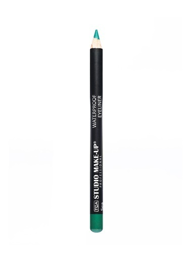 Tca Studio Make Up Waterproof Eyelıner-Sea Green Renkli